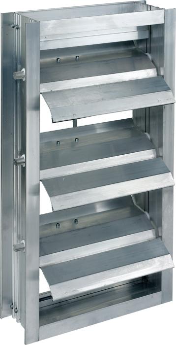 Extruded Aluminum Backdraft Damper