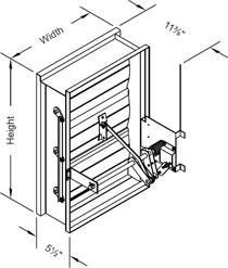 Ruskin Smoke Damper Installation Instructions