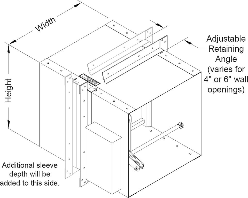 Mini Cl II 1 ½hr Single Thickness Blade Fire/Smoke Damper Damper Smoke Detector Wiring Diagram on