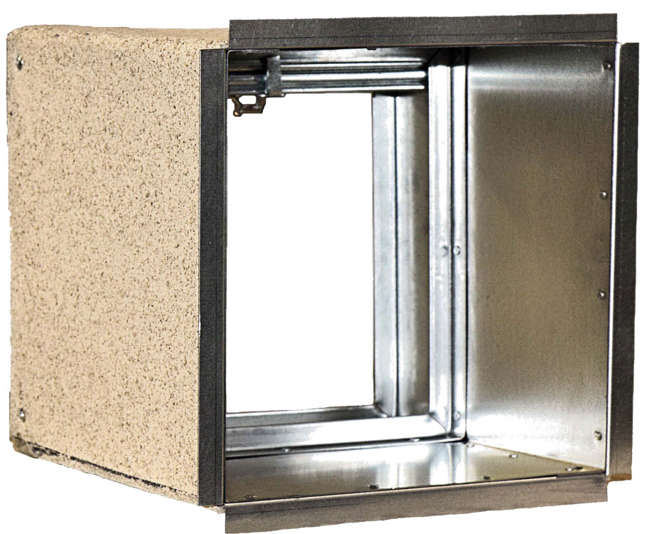 1 189 Hour Rated Curtain Fire Damper