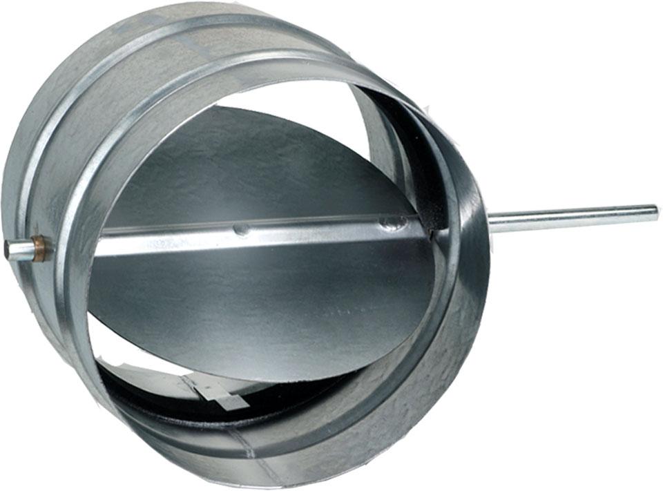 round single blade stainless steel damper. Black Bedroom Furniture Sets. Home Design Ideas