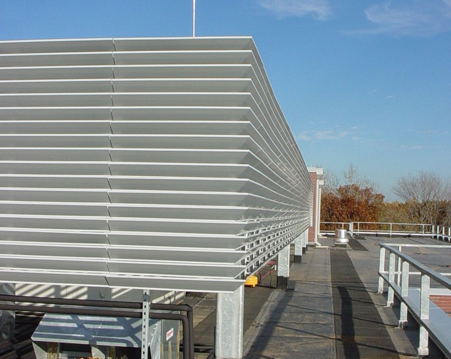 Louver Screen Wall : Related keywords suggestions for equipment screens
